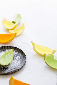 Cadillac Margarita Jello Shots via Bakers Royale