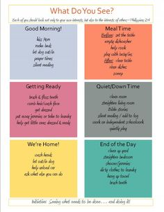 """Initiative"" Chart to help kids take initiative from OneFunMom.com. (Ready to take chores online? Try FamZoo.com)"