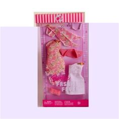 Barbie Fashion Fever Holiday Clothes and Accessories - White and Floral Dresses, Purse, Heels, Sunglasses Barbie http://www.amazon.com/dp/B0016L52XM/ref=cm_sw_r_pi_dp_EFiVtb05W5A9QVS6