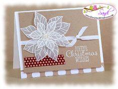 http://stampingwithsandi.com/wp-content/uploads/2013/08/JoyfulChristmasVellum1.jpg  I shared a card recipe for this project here:  http://stampingwithsandi.com/4-was-already-inked/ christma card, card idea, joy christma, stamps, card stock, christmas paper, stampin up christmas, diy christmas cards, su joy