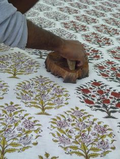 Block printing technique