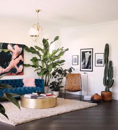 Top 10 – The perfect Living rooms for a chic summer - Daily Dream Decor