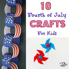 Lots of fun 4th of July crafts in here!