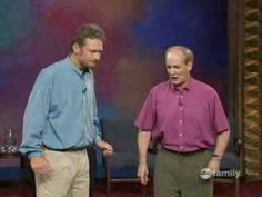 -Pinning to watch when I have a chance-The BEST moment from Whose Line is it Anyway in history. LOVE this show! I couldn't stop laughing! Take the five and a half minutes to watch it! So this is what improve is supposed to look like!