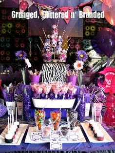 My Eva wants a rock star party for her 7th birthday ...