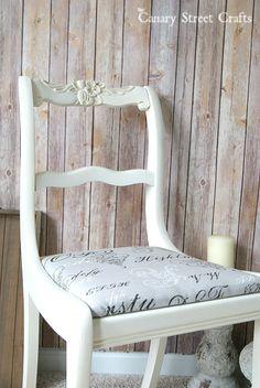 Upcycled chair paint