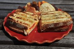 Actually grilled cheese. Photo: Fred R. Conrad/The New York Times