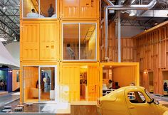 office spaces, architects, warehouses, office designs, offices, pallotta teamwork, los angeles, shipping containers, workspac