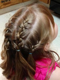 Perfect little girl hair do