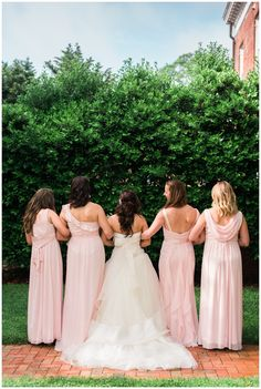 Janelle's bridesmaid