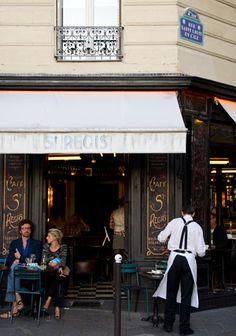 stregi, pari darl, fotoamor, visit pari, fine art photography, regi cafe, café, parisian cafe, place