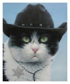 El gato cawboy