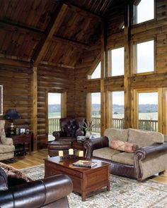 Timberhaven Log Homes - Log Home Gallery