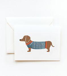 <3 a dachshund!