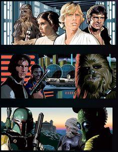 Star Wars by Randy Martinez *