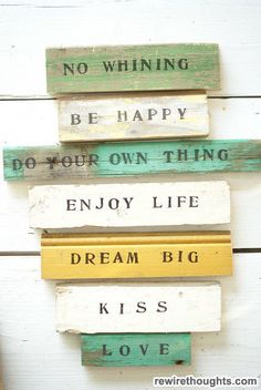 No Whining And Be Happy #quotes #inspirational