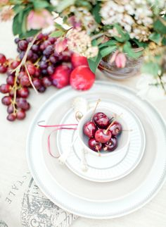 Summer Berry Place Setting