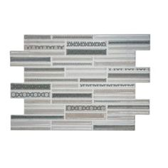 Merola Tile Luxury Grey 8 in. x 12 in. Ceramic Wall Tile-WMGLUXG at The Home Depot