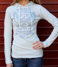 Sky Hoodie- by Original Cowgirl Clothing Co.