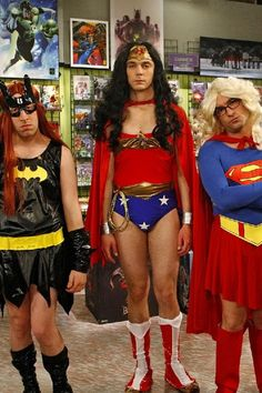 That's what happens when the Big Bang Theory boys lose a bet!
