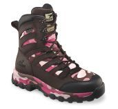 "Pink ""hunting"" boots."