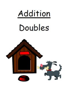 """Fern Smith's FREE Center Game Math Addition """"Doubles"""" Concept!"""