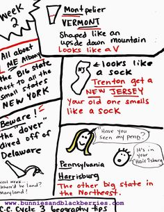Bunnies and Blackberries: Classical Conversations Cycle 3 Geography tips and trick Weeks 1-7