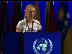 """Brittany Trilford, age 17, from New Zealand spoke with """"fire"""" in her heart as she addressed the 130 Heads of State at the United Nations Rio+20 Earth Summit in Brazil. I heard her live at the amazing Rio + Social.  The youth of today hold the key to our future."""