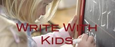 YA author shares lots of ideas for writing with kids. Fun!