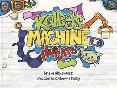 Kalley's Machine Plus Cats - an interactive book about a girl who build a machine to help her father. Appysmarts score: 95/100