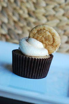 Cooking à la Mode: Snickerdoodle Cupcakes