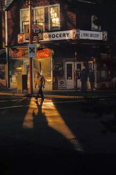 Crossing Powell, 1984 - Fred Herzog