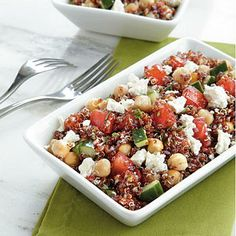 Red Quinoa Salad | CookingLight.com
