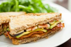 Make this Fig Avocado Bacon Sandwich for lunch.
