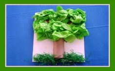 Arbor Day Tree Craft and Tree Song for Kids!