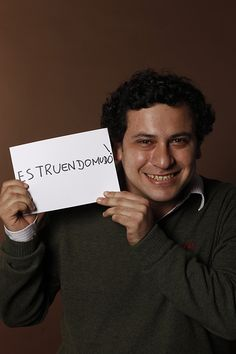 Estruendomudo / Loud noise you can't hear, Alvaro Lasso, Estruendomudo,Director of Editorial, Lima, Peru