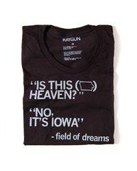 """No, It's Iowa"" heaven, dream quotes, movie quotes, shirt"