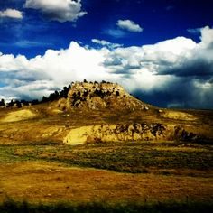 A beautiful mountain in Wyoming (I took this) :D