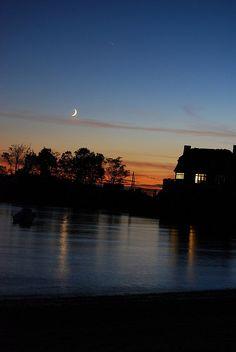 Rowayton sunset