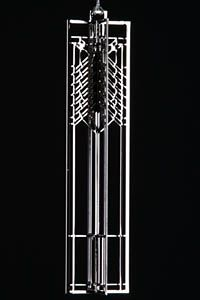 Frank Lloyd Wright - Steffen Wndw Wrightsicle $33