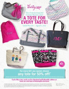 March 2013 thirty-one customer special
