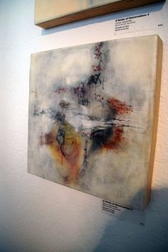 Encaustic work.