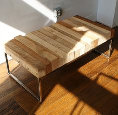 Play haus design made on pinterest steel coffee table for Coffee tables 4x4