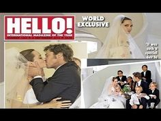 First Look See Angelina Jolie's Unique Wedding Dress