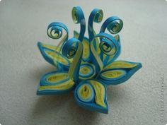 Поделка, изделие Квиллинг: Цветок для участия в конкурсе Бумага. Фото 1