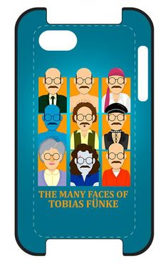Tobias Funke Arrested Development iPhone case. YESSSSSSSS!