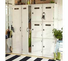 potterybarn, laundry room storage, potteri barn, changing rooms, laundry rooms, locker, barns, pottery barn, entry storage