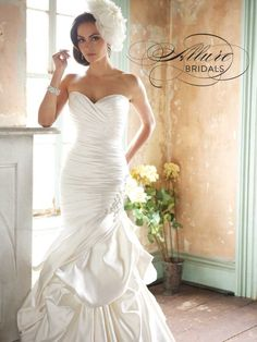 Allure Bridals + A Giveaway!  Read more - http://www.stylemepretty.com/2013/09/26/allure-bridals-a-giveaway/