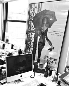 A glimpse inside Mark Badgley & James Mischka's office, in the heart of NYC's fashion center.