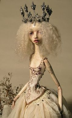 Dirvolira a unique ball jointed art doll by tirelessartist on Etsy, $1,025.00